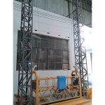 10m: n tehoinen alumiinirunko ripustettu alusta zlp1000 yksivaiheinen 2 * 2.2kw